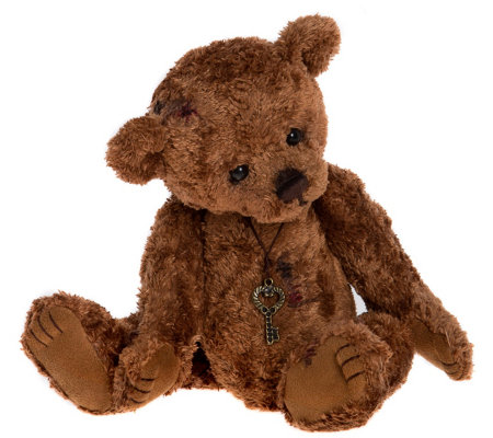 "Charlie Bears Collectible 9"" Little Freddie Bea r"