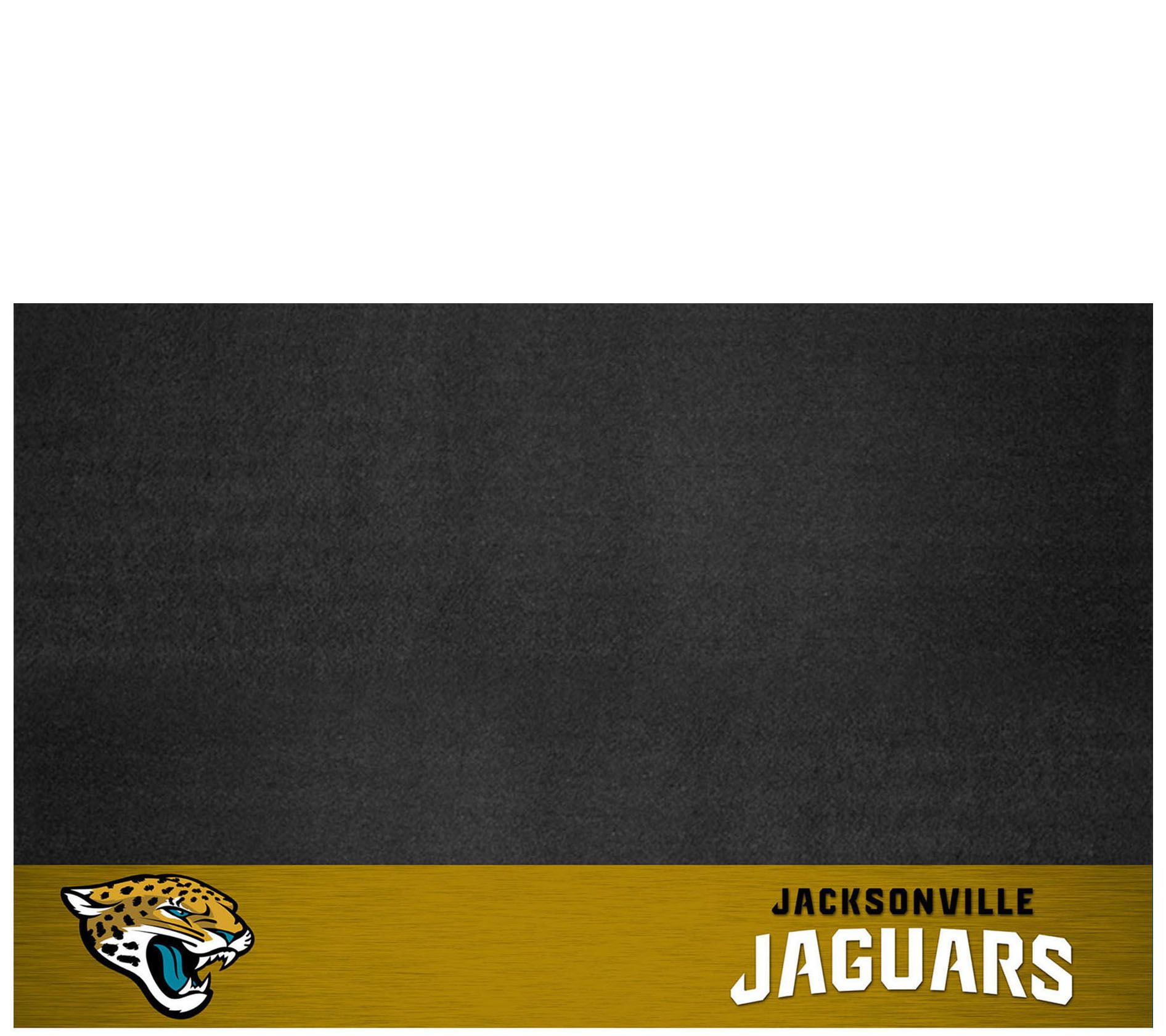 Vinyl grill mat with your favorite team logo