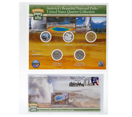 United States National Parks &Sites Quarters Program- Yellowstone,WY