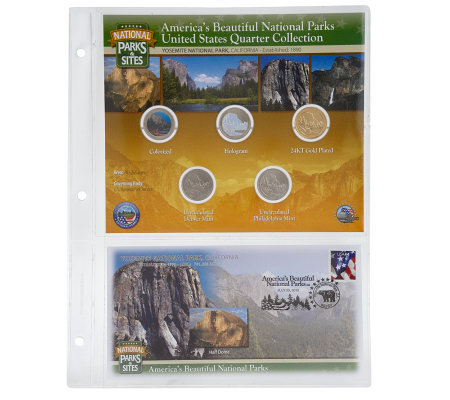 United States National Parks &Sites Quarters Program Yosemite