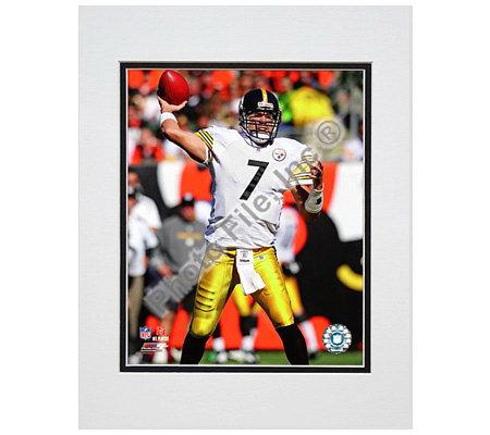 NFL Steelers Ben Roethlisberger Matted 8x10 Photo — QVC.com 5af057eb8