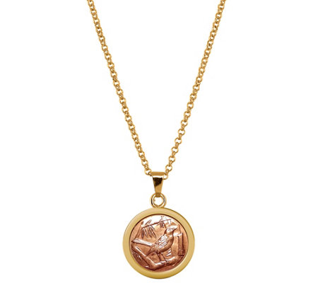 American Coin Treasures Thrush Coin Pendant