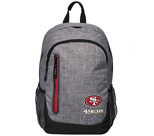 NFL Heather Grey Bold Color Backpack