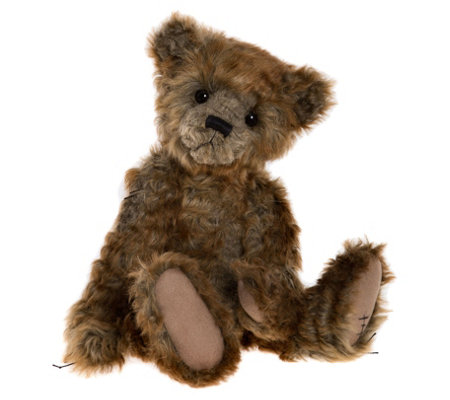 "Charlie Bears Collectible 12.5"" Cecil Plush Bear"