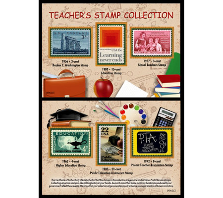 American Coin Treasures Teacher's Stamp Collection