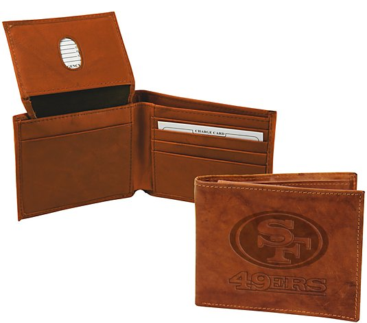Rico NFL Embossed Leather Billfold
