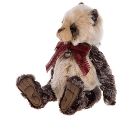 "Charlie Bears Collectible 14-1/2"" Sadie Plush Bear"