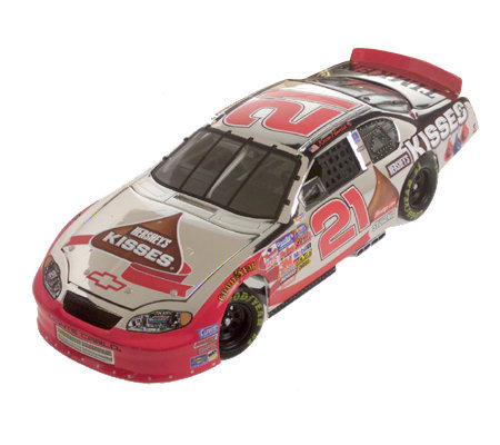 Kevin Harvick Hershey Kisses 1 24 Color Chrome Car