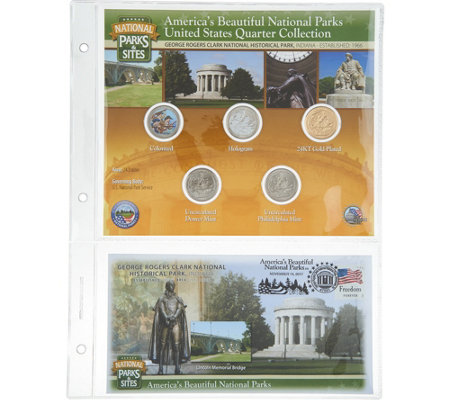 United States National Parks &Sites Quarters Program