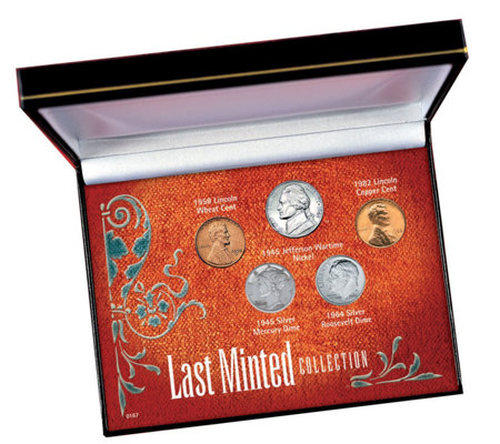 American Coin Treasures Last Minted Coin Collection