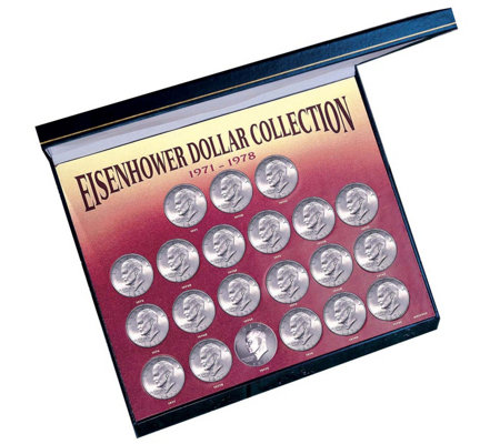 American Coin Treasures Eisenhower Dollar CoinSet