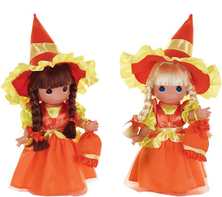 Set of 2 Precious Moments Candy Corn Cuties