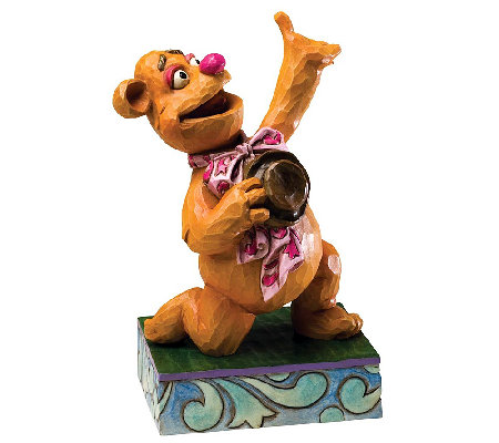 Jim Shore Disney Traditions Fozzie Bear Muppets Figurine