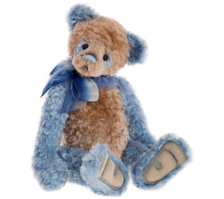 "Charlie Bears Collectible 18.5"" Olien Plush Bear"