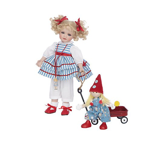 Little Lovey Doll with Wagon Limited Edition by Marie Osmond