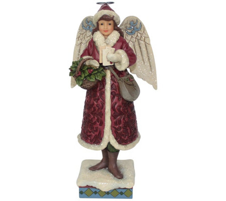 Jim Shore Heartwood Creek Merry Messenger Figurine