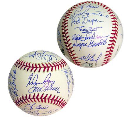 . 1969 New York Mets Team Signed Baseball   QVC com