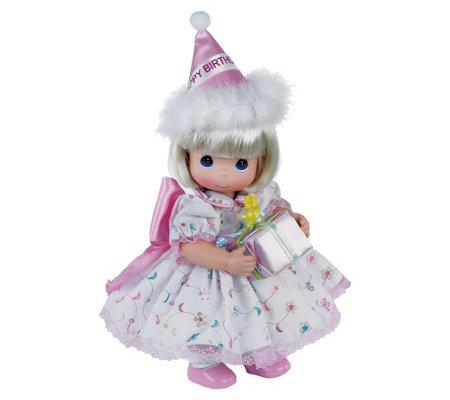 "12"" Birthday Wishes Precious Moments Doll"