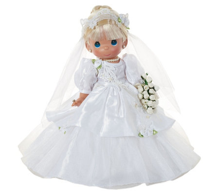 "12"" Precious Moments I Do Bride Doll"