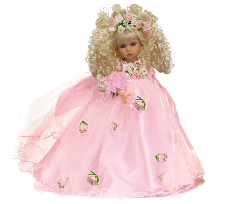"The Doll Maker Pretty As Can Be Blonde 12"" Vinyl Doll"