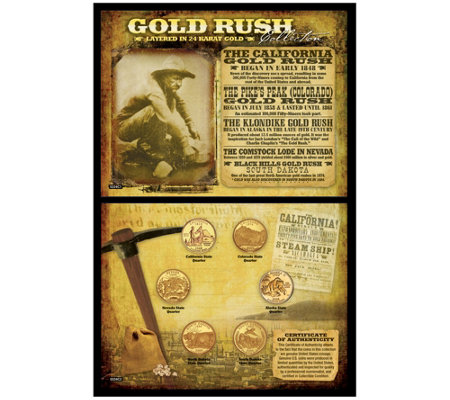 Gold Rush Coin Collection