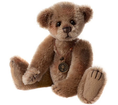 "Charlie Bears Collectible 7"" Snippet Minimo Bear"