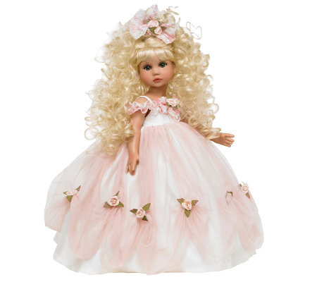 "The Doll Maker Graceful As Can Be Blonde 18"" Vinyl Doll"