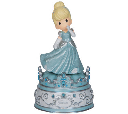 Precious Moments Disney Cinderella Music Box