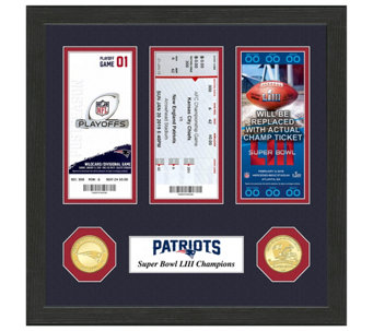 New England Patriots Road to Super Bowl LIII Ticket Collection - C215399 552004ecb