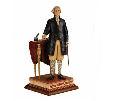 Jim Shore Heartwood Creek George Washington Figurine U2014 QVC.com