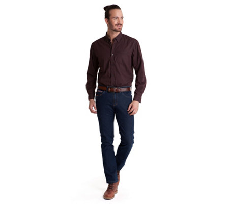 CLUB OF COMFORT® Jeanshose Ruben 5-Pocket-Style High-Stretch-Denim formstabil