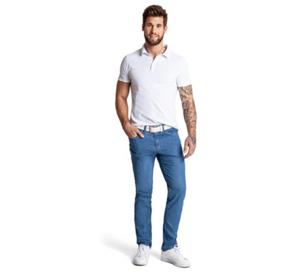 CLUB OF COMFORT® Jeanshose, John 5-Pocket-Style High-Stretch super-leichter Denim