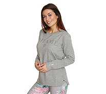 BARBARA BECKER MIAMI FIT Sweatqualität Shirt, 1/1-Arm Metallplättchen - 199307
