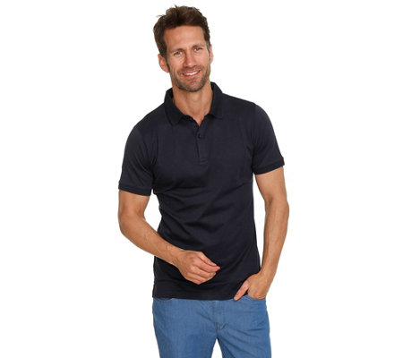 COMMANDER Poloshirt 1/2-Arm Knopfleiste Pima-Cotton