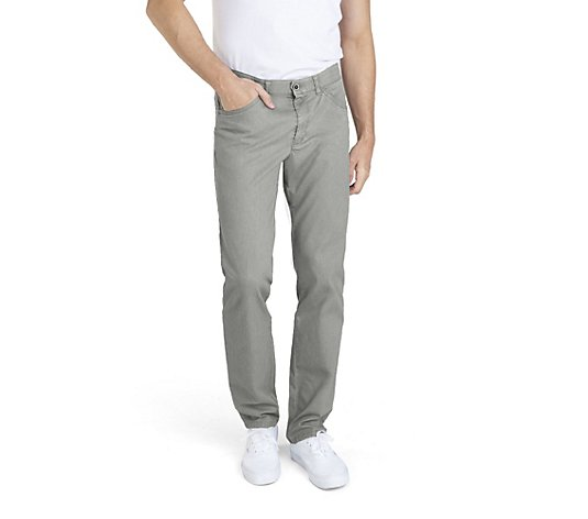 CLUB OF COMFORT® Herrenhose Marvin modifizierte 5-Pocket Fade-Out Färbung High-Stretch