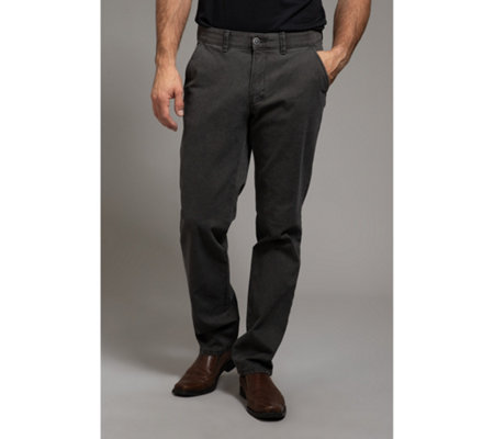 CLUB OF COMFORT® Herrenhose Garvey Chino Strick-Struktur regular fit