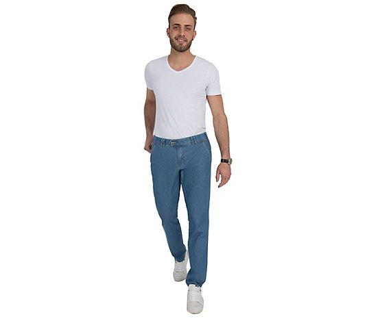 CLUB OF COMFORT® Herrenjeans Dallas Chino cleane Waschung comfort fit