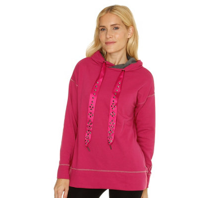 BARBARA BECKER MIAMI FIT Sweatshirt Kapuze Dekosteine