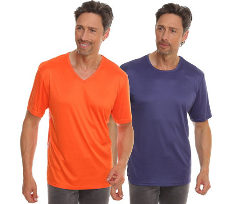 MEN'S TOUCH MF Jersey Interlock DP Shirts,1/2-Arm V-Ausschnitt & Rundhalsausschnitt