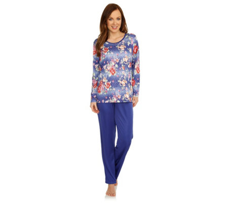 LITTLE ROSE MF Jersey Interlock Pyjama, 1/1-Arm 1/1-Hose bedruckt