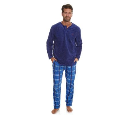 info for b58c8 fc78d MEN'S TOUCH MF Flanell Pyjama, 1/1-Länge Knopfleiste Karodruck — QVC.de