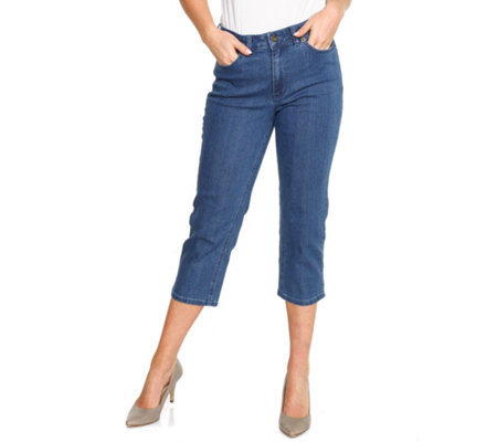 DENIM & CO. Jeanshose Dora 7/8-Länge 5-Pocket-Style