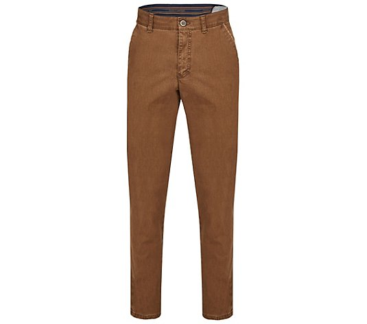 CLUB OF COMFORT® Herrenhose Garvey Chino Broken-Twill hochelastisch