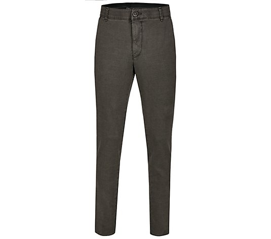 CLUB OF COMFORT® Herrenhose Garvey Chino-Style Woll-Optik Komfortbund