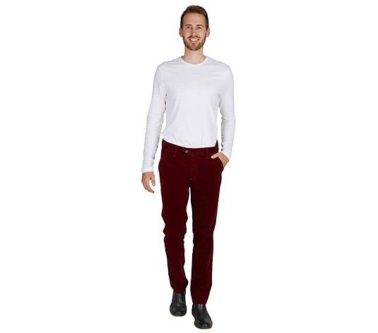 CLUB OF COMFORT® Herrenhose Garvey Chino-Style Kordqualität elastisch