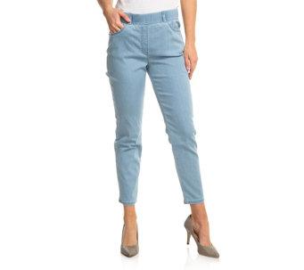 39f48e1a00e3 Blau — 7/8 Jeans — Jeans — QVC.de