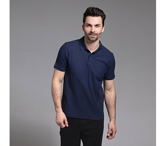 BASEFIELD Polo-Shirt 1/2-Arm Bruststickerei Pikeeware