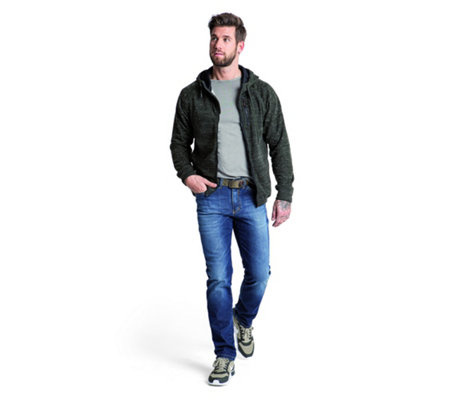 CLUB OF COMFORT® Herrenjeans Henry 5-Pocket-Style High-Stretch-Denim regular fit