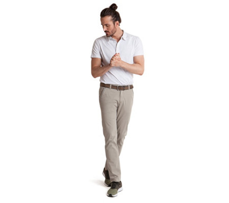 CLUB OF COMFORT® Herrenhose Goswin Chino-Style Broken-Twill superweicher Griff