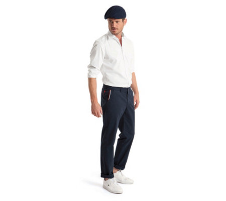 CLUB OF COMFORT® Herrenhose Gaard Chino-Style Baumwoll-Garbadine Coolmax®